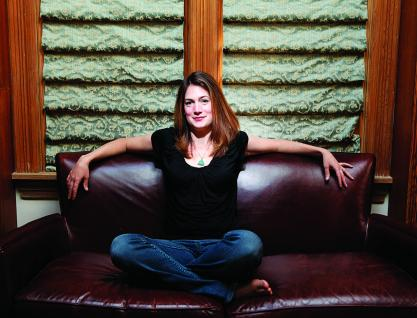 Gillian Flynn, my newest celebrity crush.