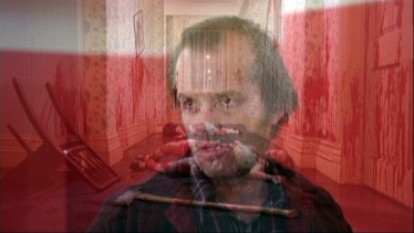 One of the theorists in the film explain that playing The Shining backwards and forwards on top of each other brings a whole new dimension to the film.